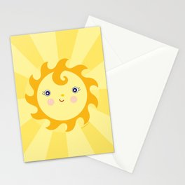 Sunny Sunshine Stationery Cards
