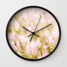 Summer Pink Wall Clock