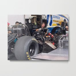 The Engine Whisperer Metal Print