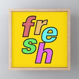 fresh – my 3 best Skills Framed Mini Art Print