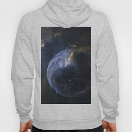 Bubble Nebula in Cassiopeia constellation. Hoody