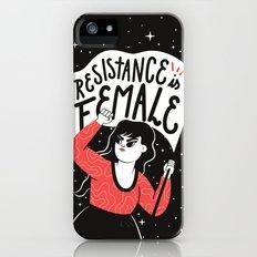 Resistance is Female Slim Case iPhone SE