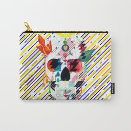 Abstract Skull Carry-All Pouch