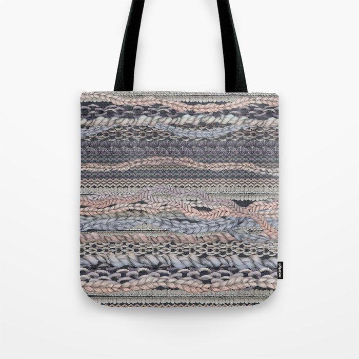 Romantic Stitches Tote Bag