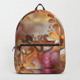 discopattern orange -1- Backpack