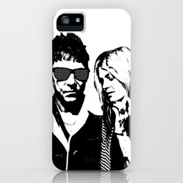 the_Kills - Black and White iPhone Case