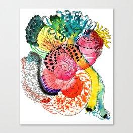 Pop Shells Canvas Print