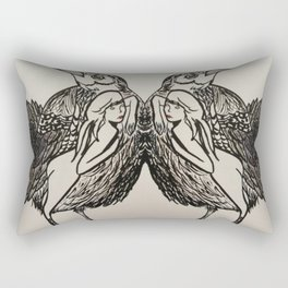 Bird #society6 #decor #buyart Rectangular Pillow