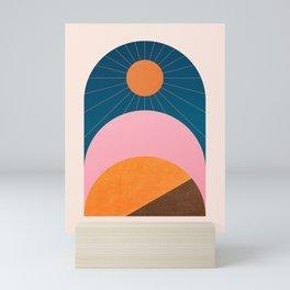 Abstraction_Sunshine_Minimalism_001 Mini Art Print