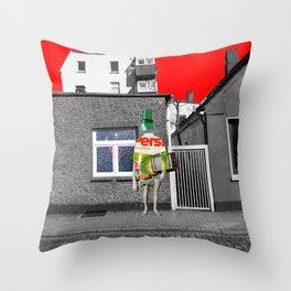 Empty (scene3) Simonsen Throw Pillow