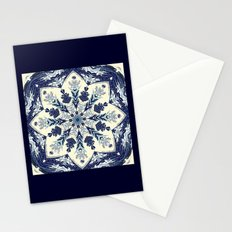Deconstructed Waves Mandala Stationery Cards