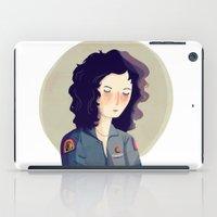ripley iPad Cases featuring Last Survivor of the Notsromo by Nan Lawson