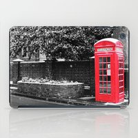 postcard iPad Cases featuring London Postcard by Mar Tejeiro