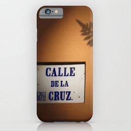 De la Cruz, Old San Juan Light iPhone Case