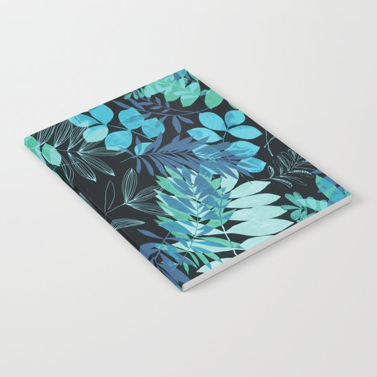 winter leaves Notebook