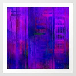 SchematicPrismatic 12 Art Print