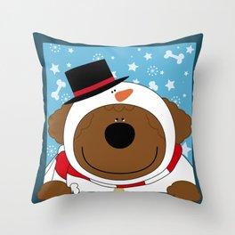 SnowWan Throw Pillow