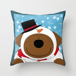 SnowWan Throw Pillow