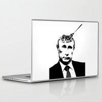 "putin Laptop & iPad Skins featuring Vlad ""Poutine"" - Putin Pun Portrait by MattSkinnerArt"