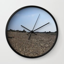 Alien Landscape Wall Clock