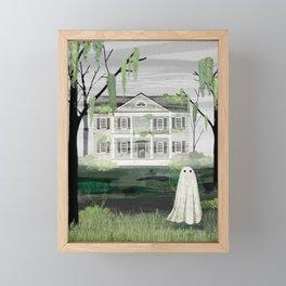 Walter's House Framed Mini Art Print