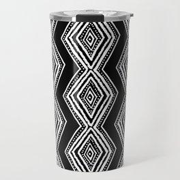 diamondback in black & white Travel Mug