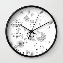 Pacman paradise Wall Clock