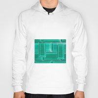 architecture Hoodies featuring ARCHITECTURE by BIGEHIBI