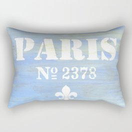 Paris 2378 Rectangular Pillow