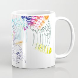 Anatomical Quetzalcoatl Coffee Mug