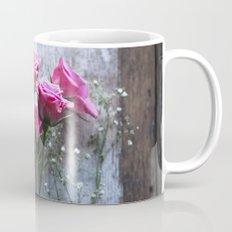 Rustic Pink Roses Mug