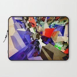Colorful Abstract Geometric Cluster Laptop Sleeve