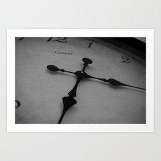 Like Clockwork Art Print