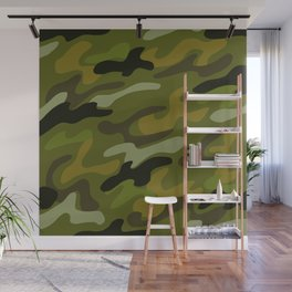 Camouflage 1 Wall Mural
