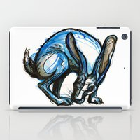 hare iPad Cases featuring Hare by Meredith Nolan