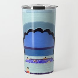 Scallop pool Travel Mug
