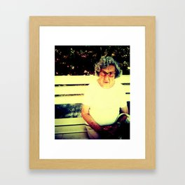 FLORA. Framed Art Print
