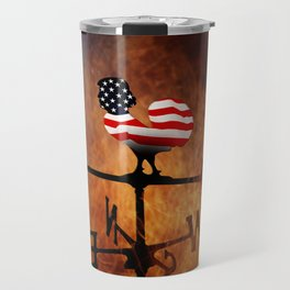 POTUS Trump and the Wind Of Times. Travel Mug
