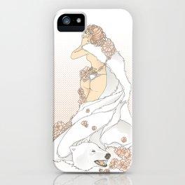Nouveau Romance iPhone Case