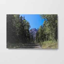 Twin Falls Mountain Metal Print