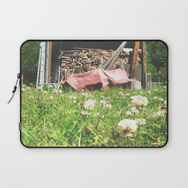 Country Wood Shed Laptop Sleeve