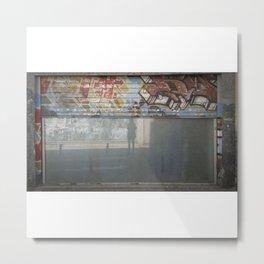 Telón y autosilueta Metal Print
