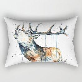 Elk - Elk Calling Rectangular Pillow