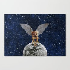 If you stop believing, they fade away Canvas Print