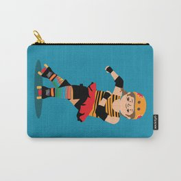 Roller Derby girl (light skin) Carry-All Pouch