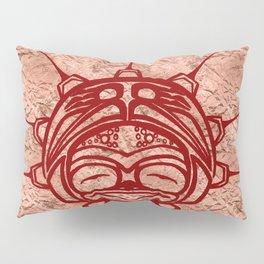 Blood Frog Copper Pillow Sham