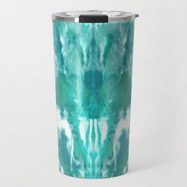 Aqua Blue Lagoon Travel Mug