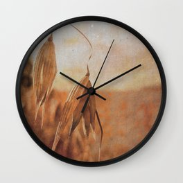 Late summer afternoon Wall Clock
