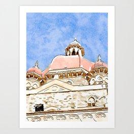 Taj Palace Art Print