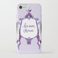 asexual iPhone & iPod Cases featuring Asexual Rogue by armouredescort